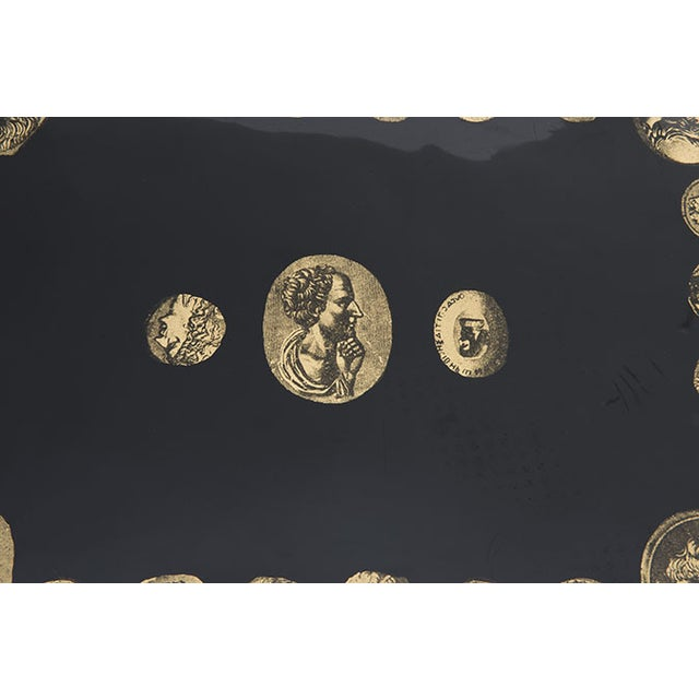 "Early ""Cammei"" Tray by Piero Fornasetti, 1950s - Image 7 of 8"
