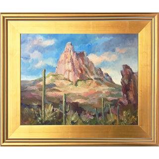 Southwest Landscape with Arizona Rock Formation by Scola