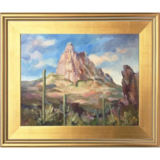 Southwest Landscape with Arizona Rock Formation by Scola