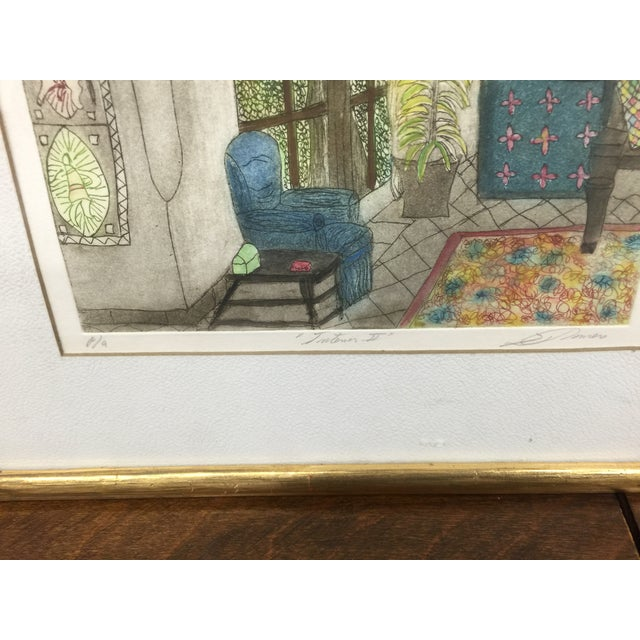 Romero Signed Interior Lithographs - A Pair - Image 4 of 9