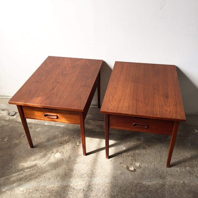 Teak Mid-Century Side Tables - Pair - Image 2 of 10