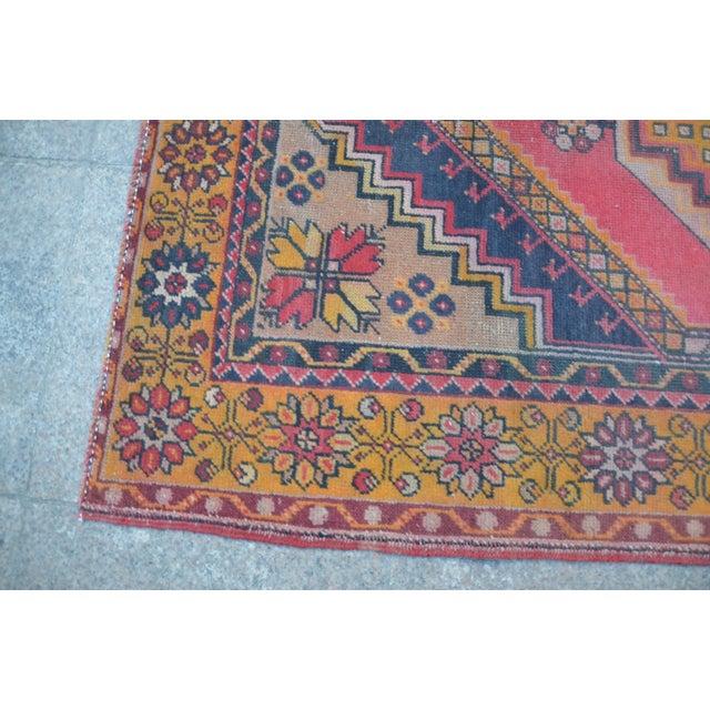 Oushak Tribal Rug - 3′6″ × 5′6″ - Image 6 of 6