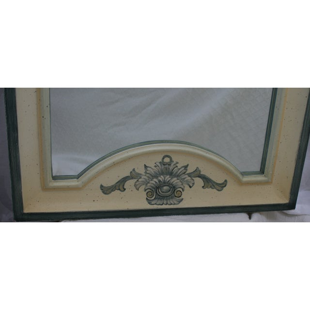 Vintage Country French La Barge Wood Framed Mirror - Image 4 of 6