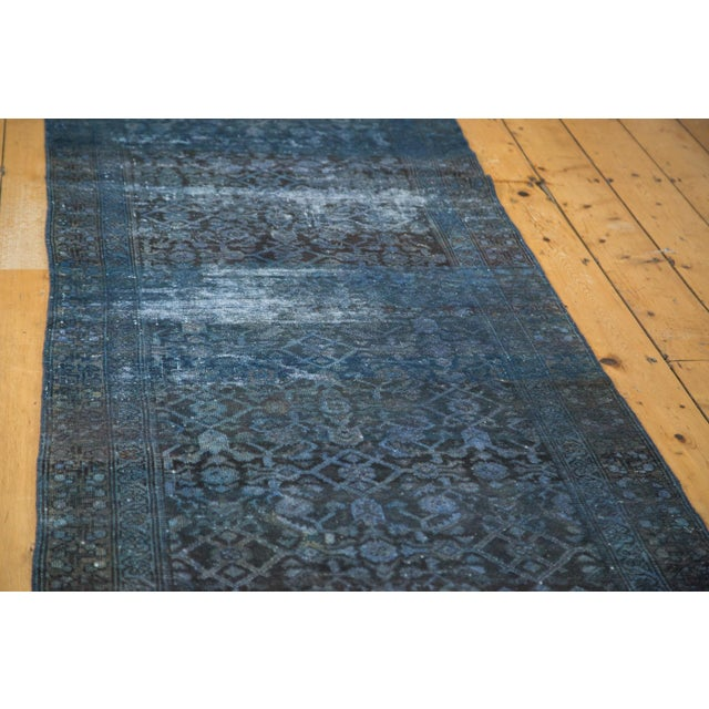Hand-Knotted Overdyed Runner Rug - 3' x 19' - Image 2 of 10