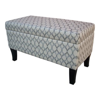 Modern Ottoman With Storage