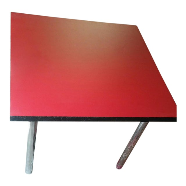 Mid-Century Square Dining Table - Image 1 of 4