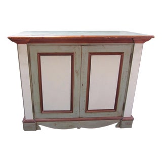Custom Rustic Painted Buffet/TV Cabinet