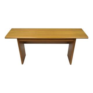 Sannemann Danish Modern Teak Drop Leaf Desk