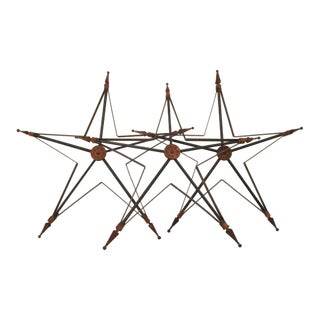 Five-Point Barn Stars - Set of 3