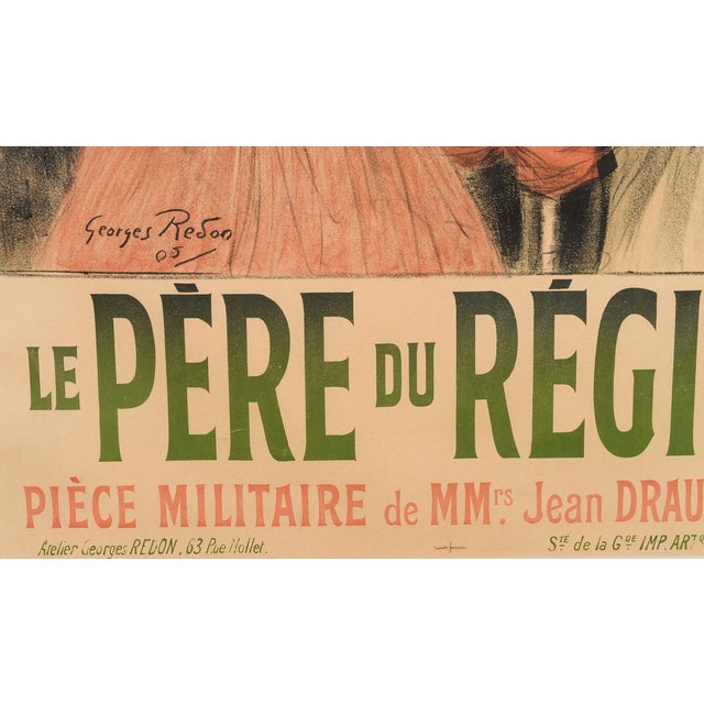 Eldorado Original 1905 Vintage French Poster- by Georges Redon -Framed - Image 6 of 10