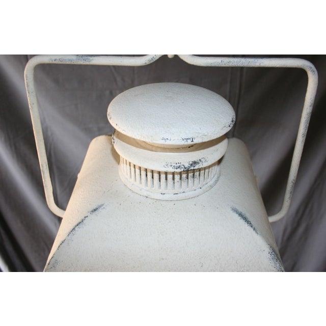 Large White Colonial Lantern - Image 6 of 7