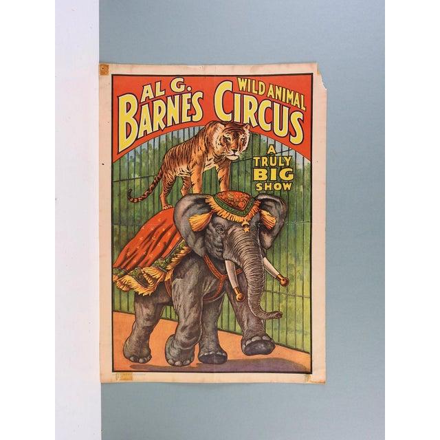Image of Al G. Barnes Circus Poster, 1960