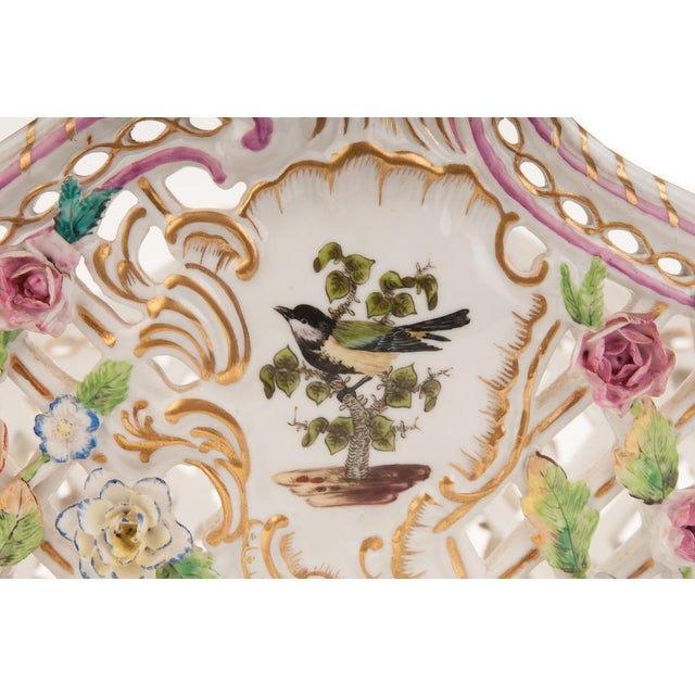 Image of Herend Antique 16' Porcelain Centerpiece