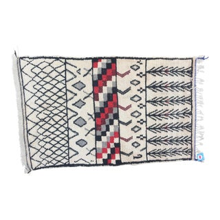 Mid and High Atlas mountains Moroccan Rug 4'4'' X 6'8''