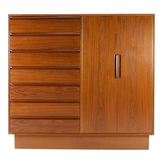 Westnofa Danish Modern Teak Chest of Drawers