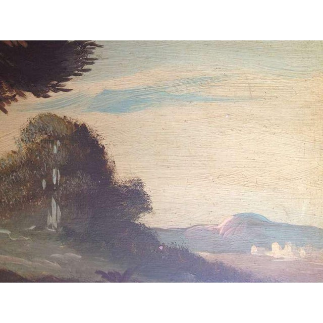 Pair of 19th Century Italian Landscapes - Image 8 of 9