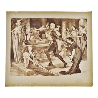 """Robert the Devil Opera"" Henry T Cariss Photogravure"