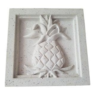 Pineapple Grove Designs Pineapple Motif Cast Stone Medallion