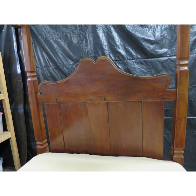 Image of Caribbean Colonial Four Poster Bed