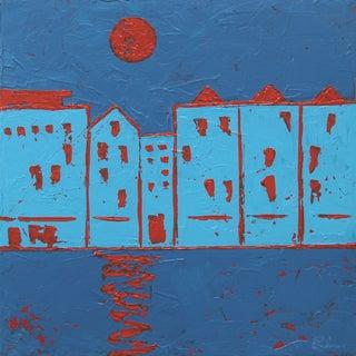 """River Liffey, Dublin,"" Painting - Celeste Plowden"