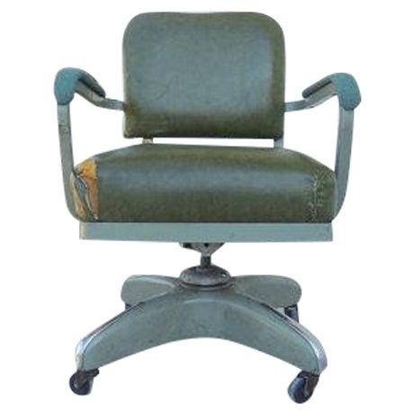 Image of Mid-Century Modern Tanker Adjustable Desk Chair