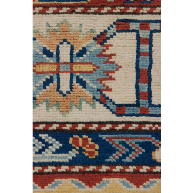 """Traditional Hand Knotted Area Rug - 5'5"""" X 7' - Image 3 of 3"""