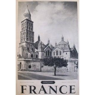 1950s Travel Poster, Saint-Front de Perigueux