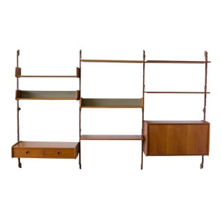 Ergo Three-Bay Wall Unit by Blindheim Møbelfabrik