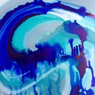 'UNDER THE SEA' original abstract painting