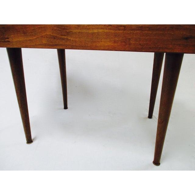 Mid Century Modern Slat Bench Coffee Table Chairish