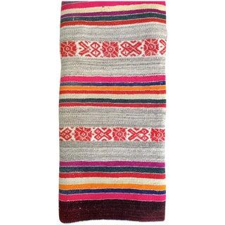 Peruvian Vintage Handwoven Manta