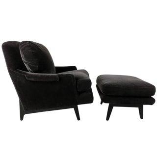 Classic Dunbar Lounge Chair and Ottoman