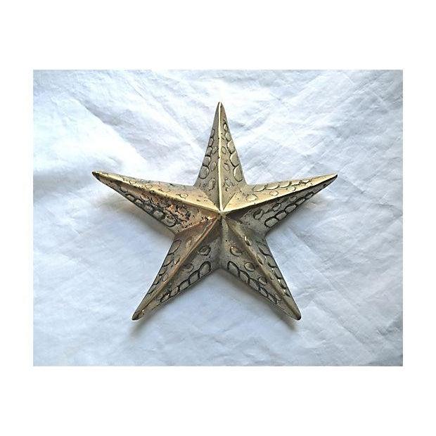 Image of Brass Starfish Wall Decor