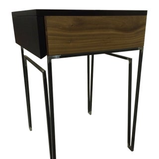Black Side Tables - Pair