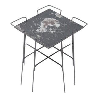 Mid-Century Metal Side Table
