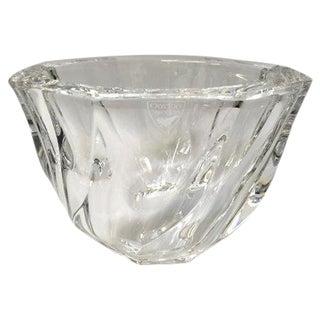 Vintage Orrefors Crystal Bowl