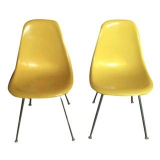 Eames DSX Fiberglass Chairs - A Pair