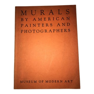 Rare 1st Edition Murals by American Painters & Photographers NY MoMA Catalogue