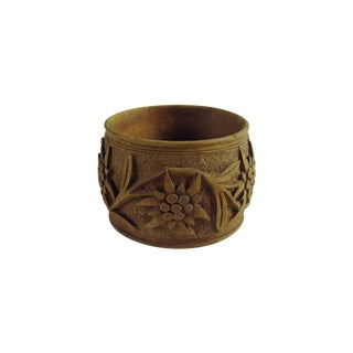 Black Forest Hand Carved Napkin Ring