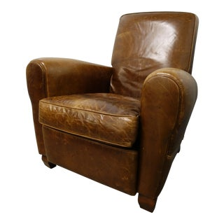 American Leather Briarwood Leather Burrows Recliner