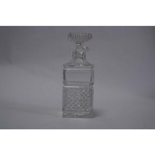 Image of Cut Glass Liquor Decanter