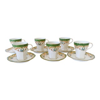 Austrian Cups and Saucers - Set of 6