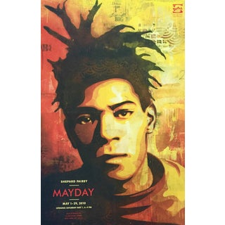 Shepard Fairey Basquiat Exhibition Poster