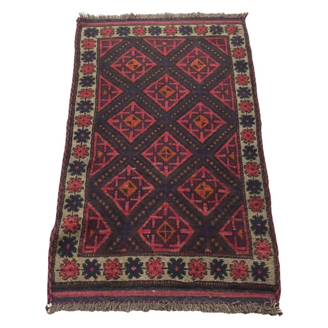 Baluchi Persian Rug - 2'8 x 5'7'' - Image 1 of 7