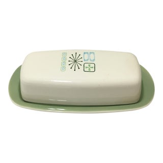 Vintage Cathay Butter Dish