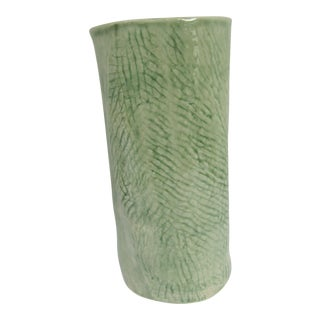 Handmade Green Vase