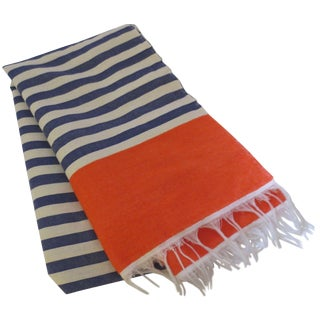 Moroccan Striped Throw or Scarf