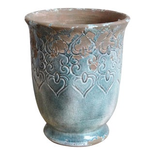 Antiqued Ceramic Urn