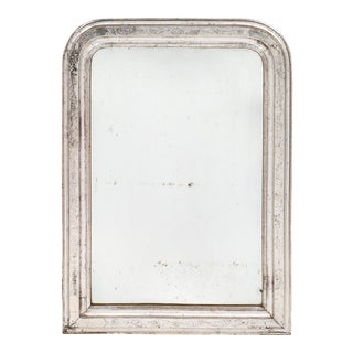19th Century Silver Leafed Louis Philippe Mirror