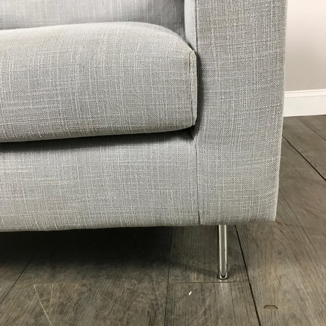 Clean Lined Modern Armchair - Image 7 of 11
